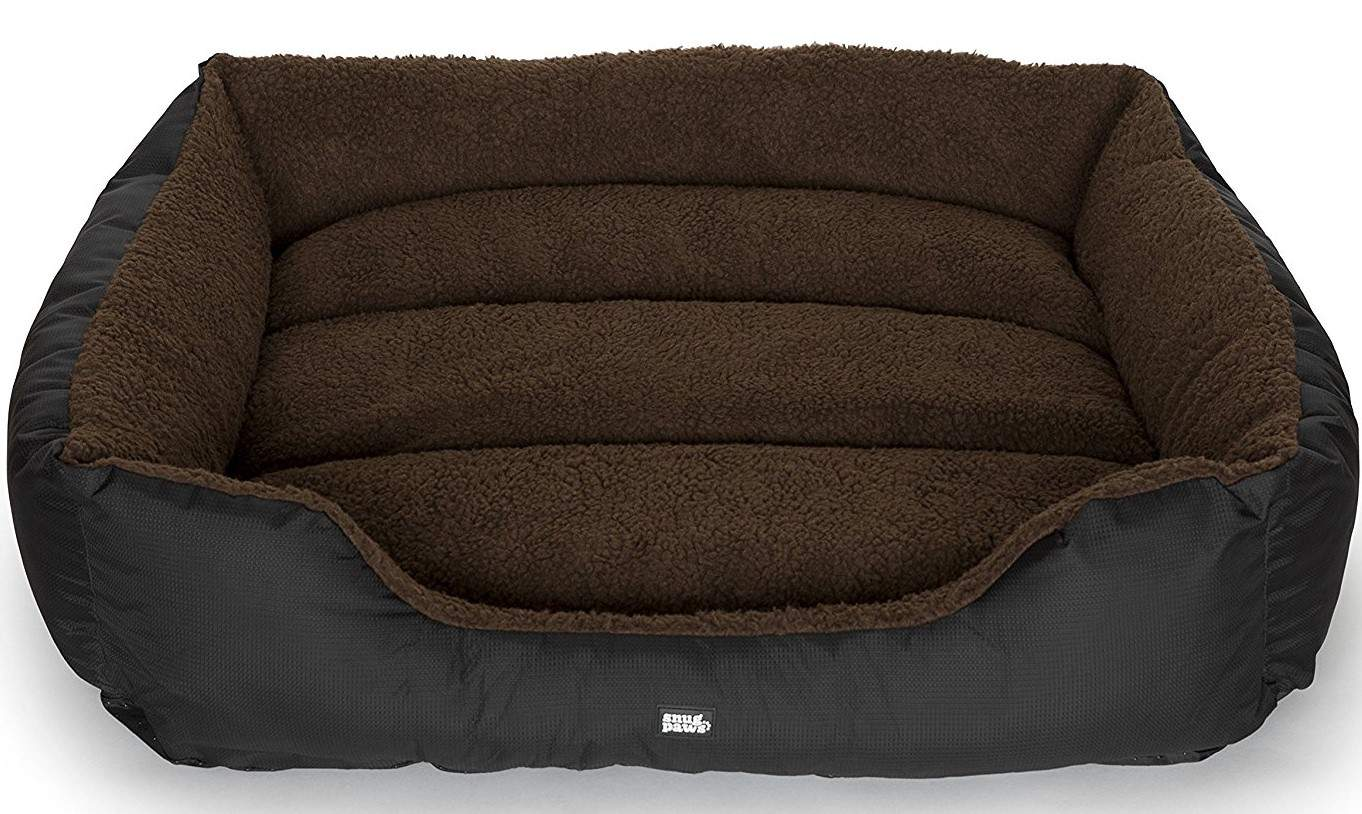 Snugpaws - Luxury Easy-Clean Washable Dog Bed Large