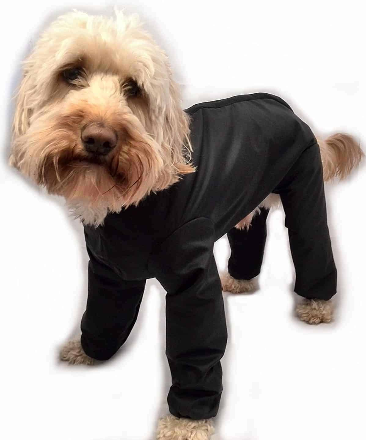 Best Dog Coats with Legs - Trouser Suit Waterproof Dog Rain Coat Onesie