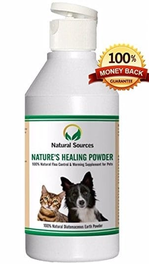 Best Flea Powders - Nature's Healing Powder by Natural Sources