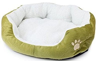 Dimple Fleece Nesting Dog Bed