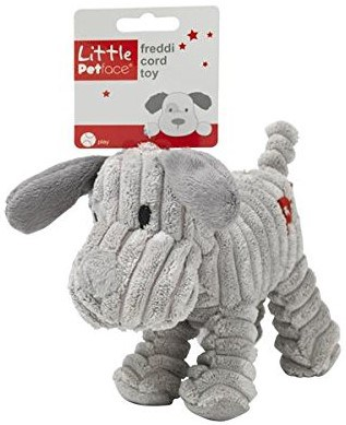 little petface puppy toy freddi cord
