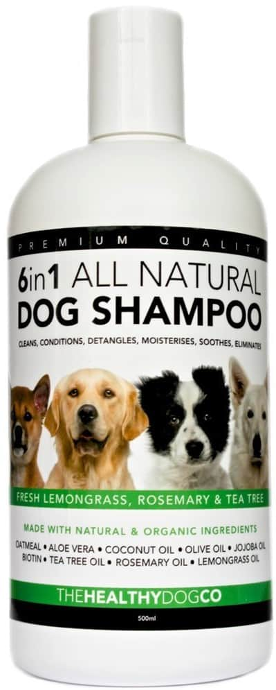 The Healthy Dog Co 6 in 1 Natural Shampoo