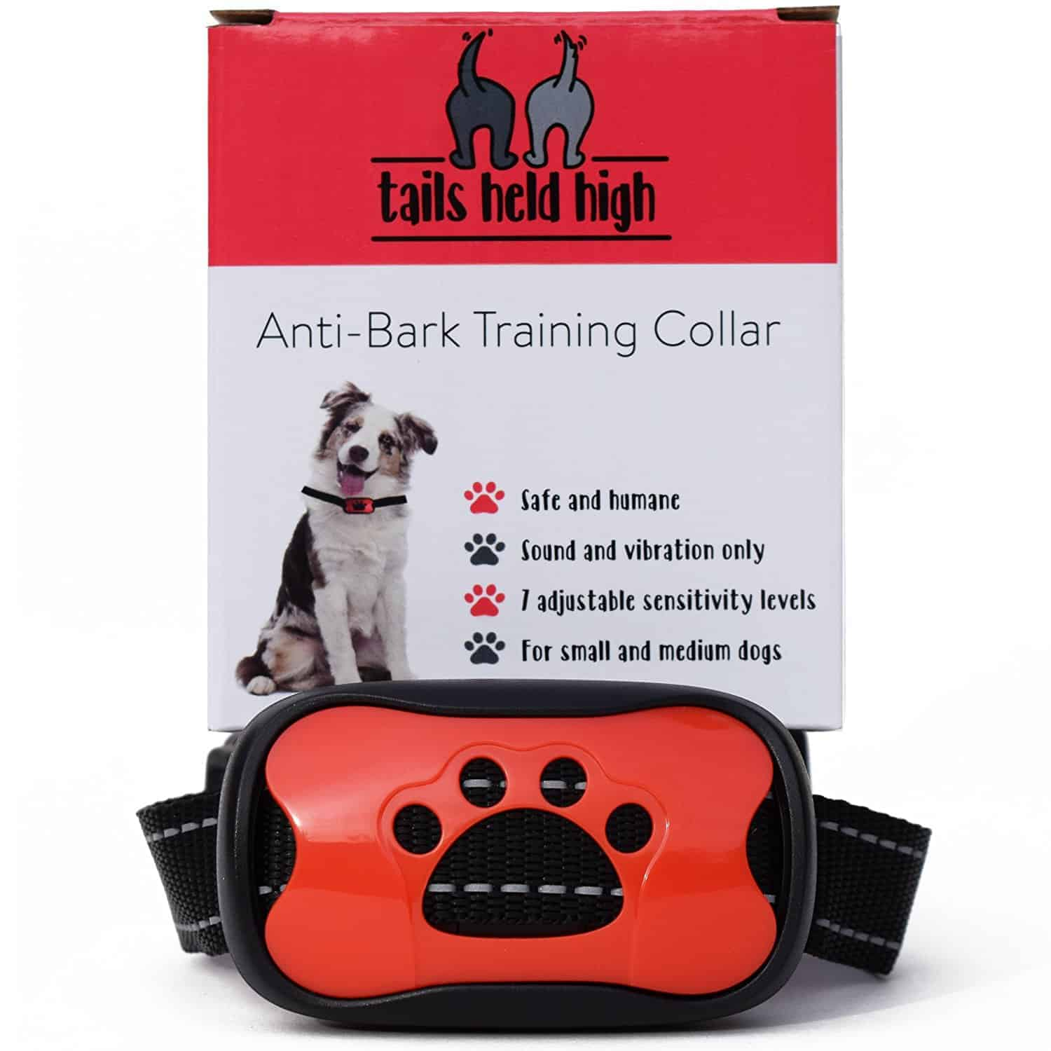Best Humane Bark Collar – Tails Held High