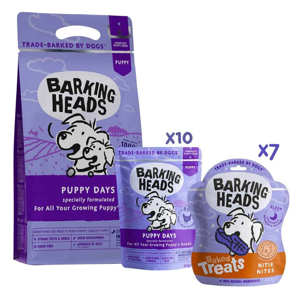 Barking Heads Puppy Days Starter Bundle