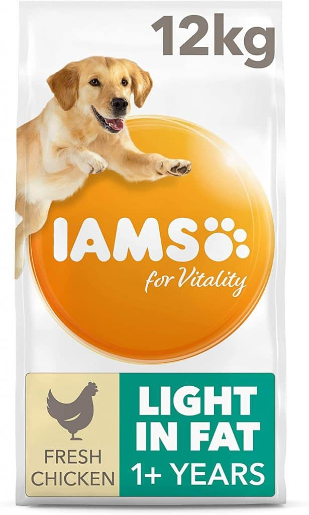 IAMS for Vitality Light in Fat