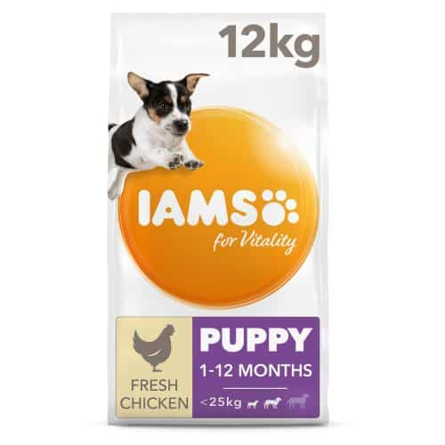 IAMS for Vitality Small and Medium Puppy