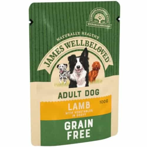 James Wellbeloved Grain-Free Lamb Pouches