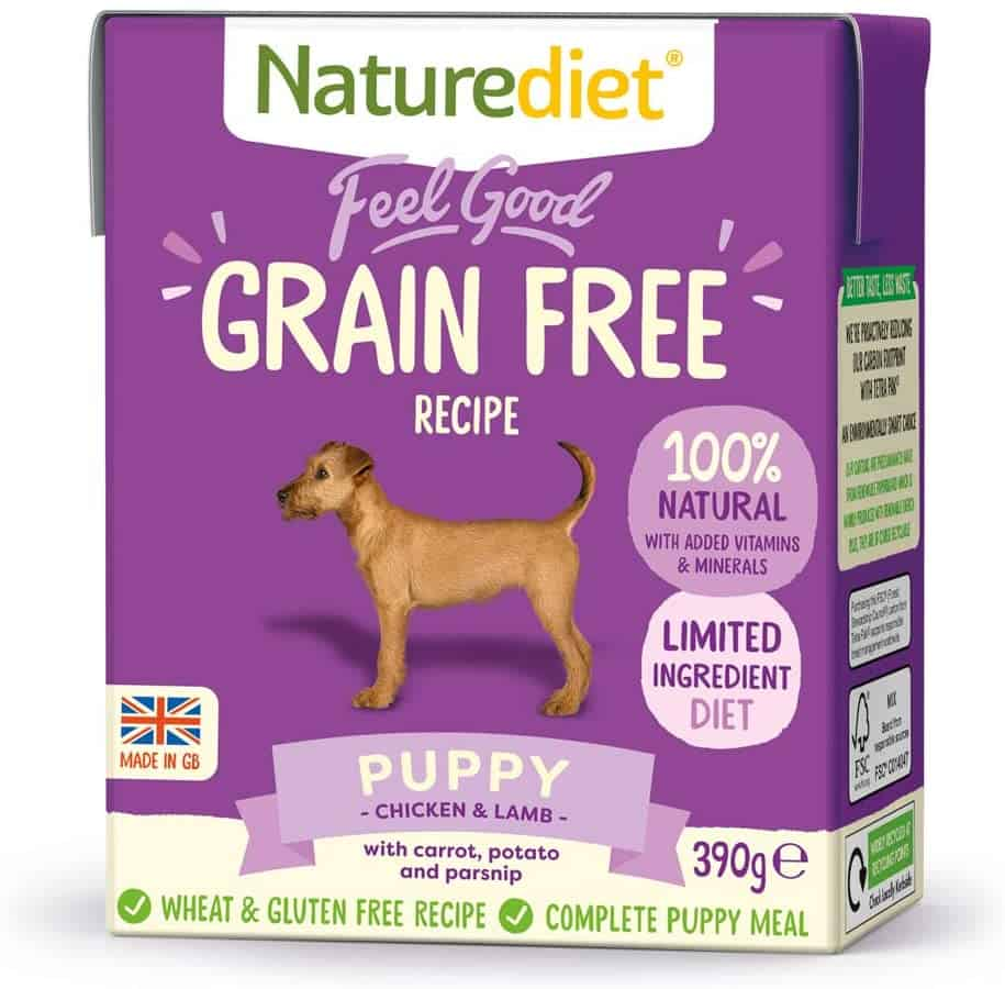 Natural Food for Good Puppies