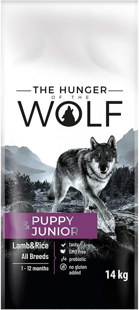 The Hunger of the Wolf Puppy and Junior