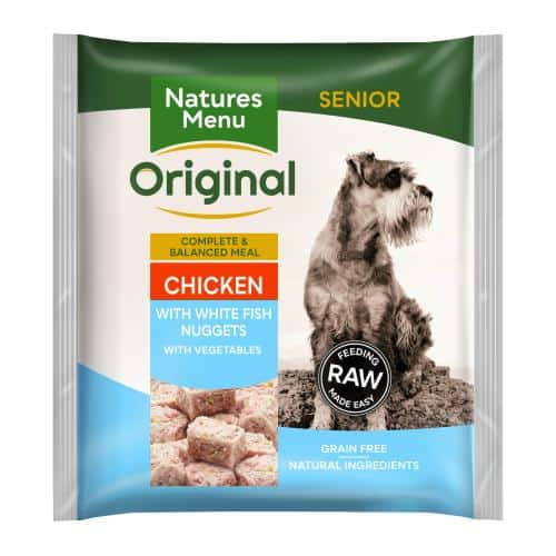 Nature's Menu Complete Senior Nuggets