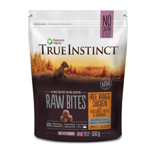 True Instinct Puppy Raw Bites