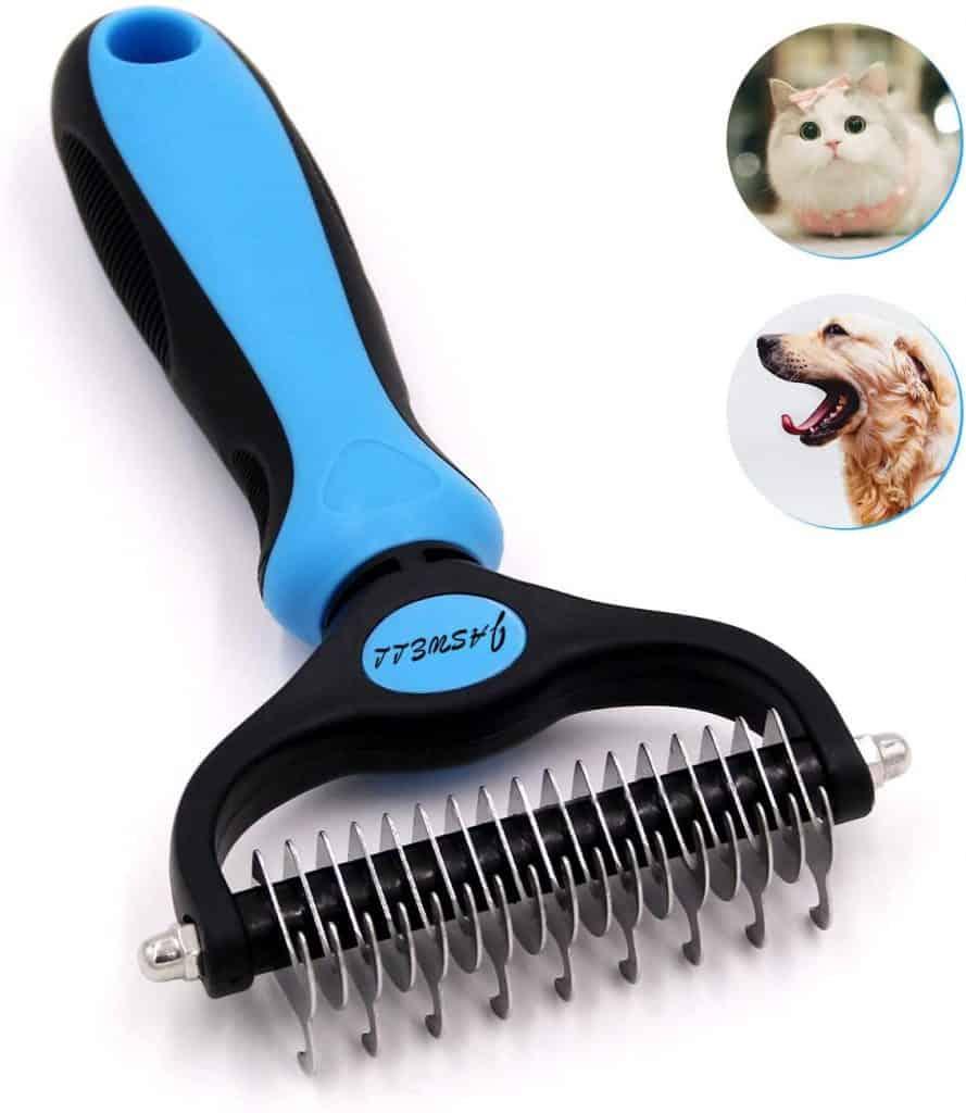 dematting comb dog